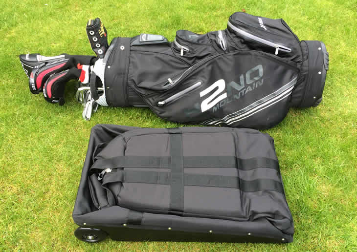 Club Glider Journey Travel Bag Folded