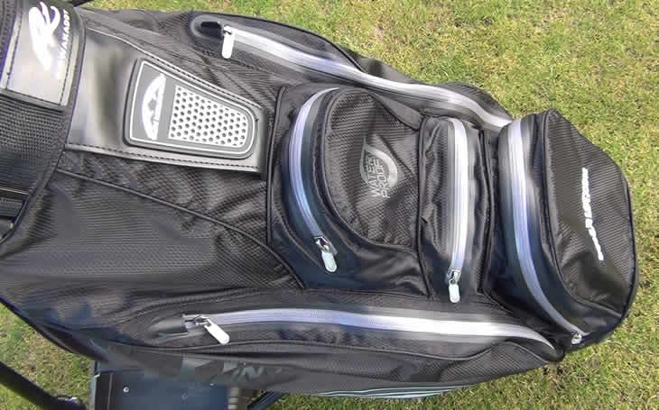 Sun Mountain H2NO Cart Bag Zips