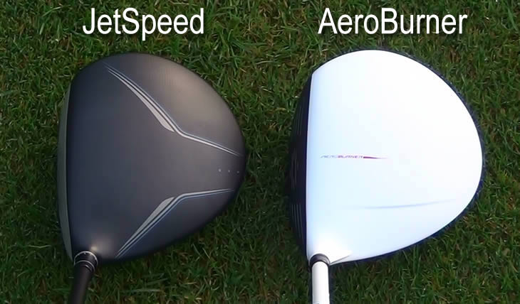 TaylorMade AeroBurner JetSpeed Address Comparison