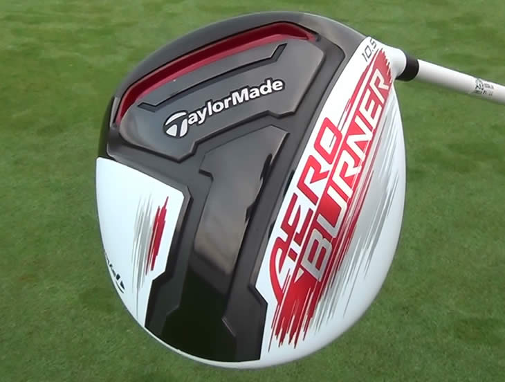 TaylorMade AeroBurner Driver Sole