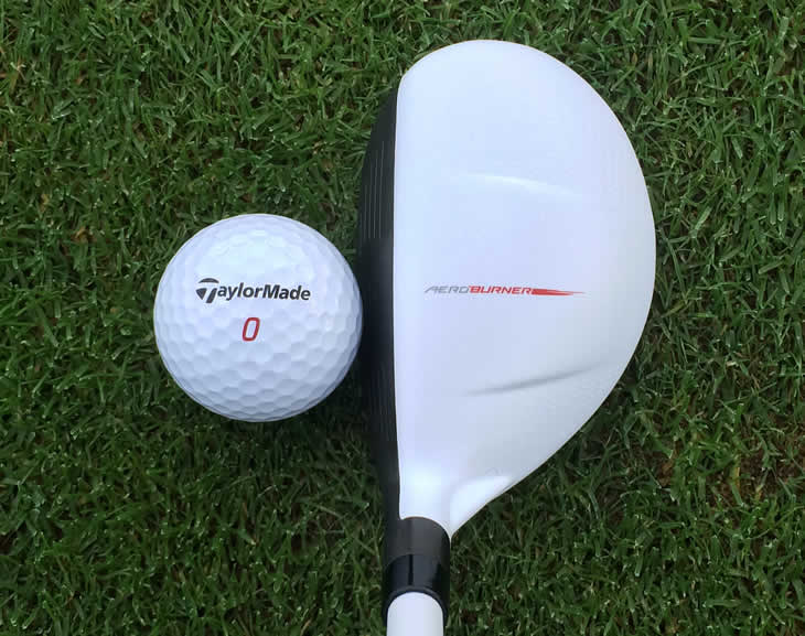 TaylorMade AeroBurner Rescue Addressl