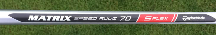 TaylorMade AeroBurner Rescue Matrix Shaft