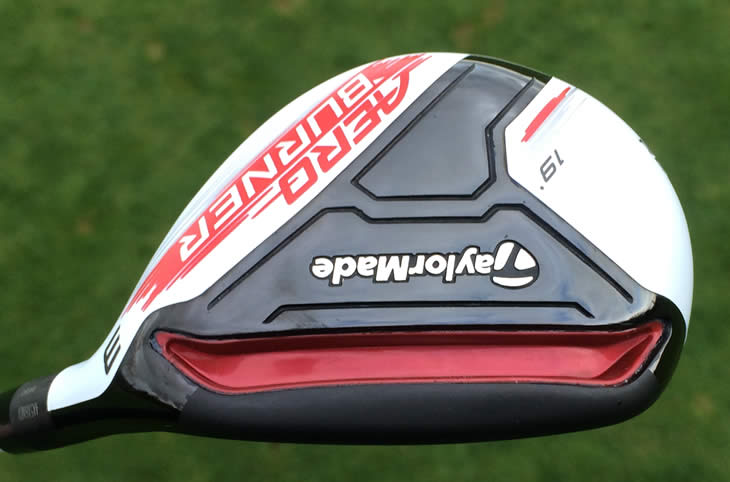 TaylorMade AeroBurner Rescue Hybrid Speed Pocket