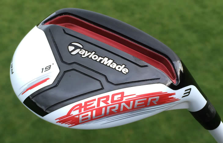 TaylorMade AeroBurner Rescue Review - YouTube
