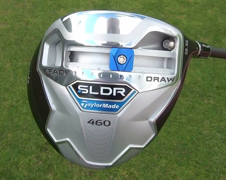 TaylorMade SLDR Driver Moveable Weight