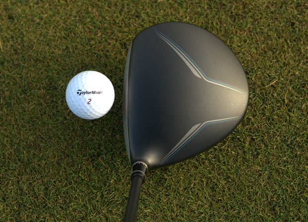 TaylorMade JetSpeed Driver At Address