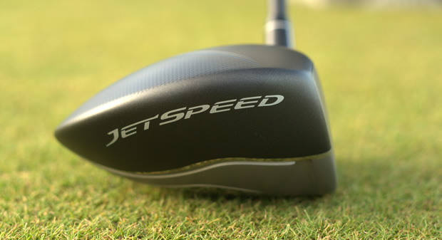 TaylorMade JetSpeed Driver Toe