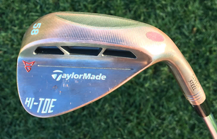 TaylorMade Milled Grind Hi-Toe Wedges
