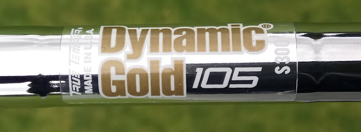 True Temper Dynamic Gold 105 shaft