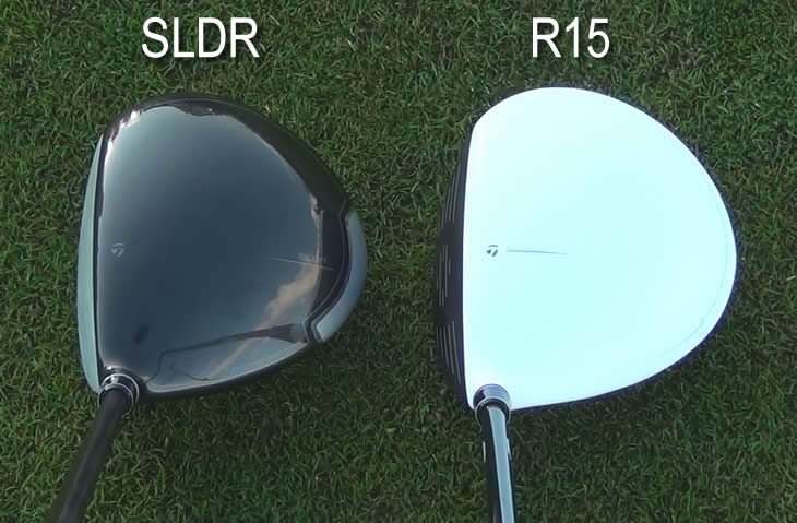 TaylorMade R15 SLDR Driver Address