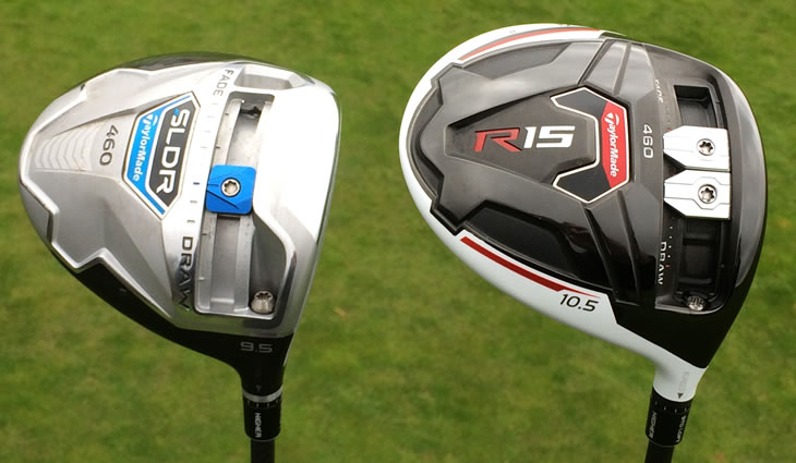 TaylorMade R15 Driver SLDR Sole View
