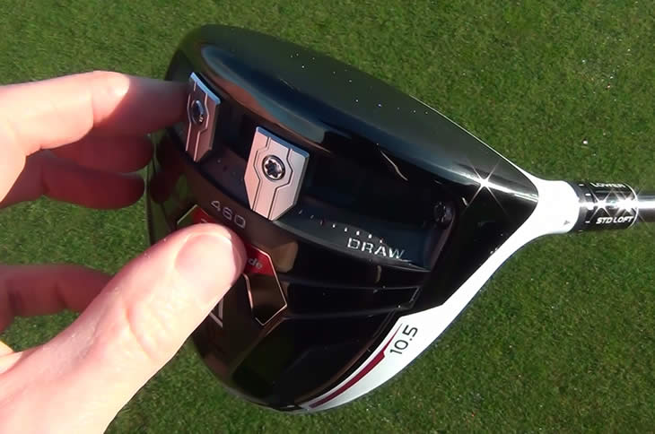 TaylorMade R15 Driver Weights Move