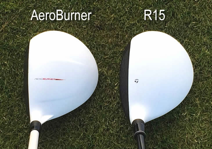 TaylorMade R15 Fairway Aeroburner Comparison
