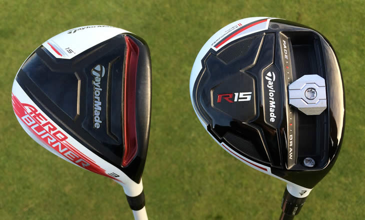 TaylorMade R15 Fairway Aerobuner Comparison