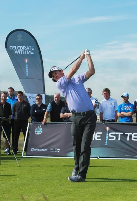 TaylorMade's Justin Rose