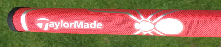 TaylorMade Ghost Spider Si Putter Grip Red