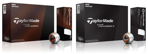 TayorMade Tour Preferred Ball Boxes