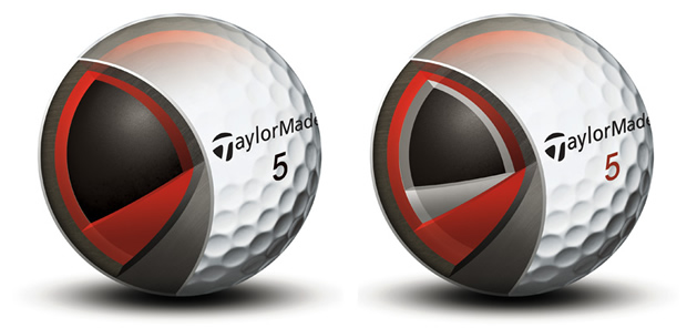 TayorMade Tour Preferred Ball Layers