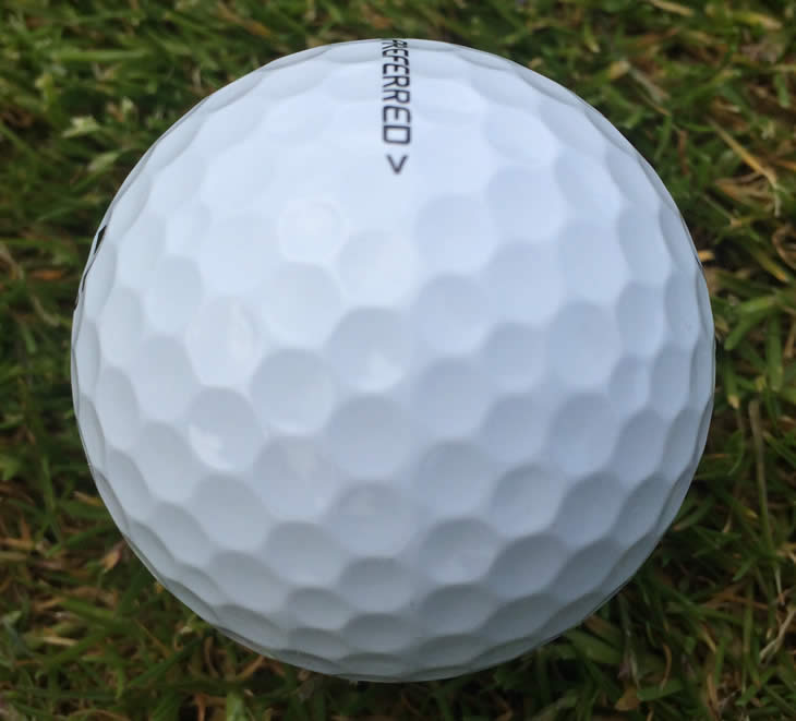 TaylorMade Tour Preferred Ball Seam