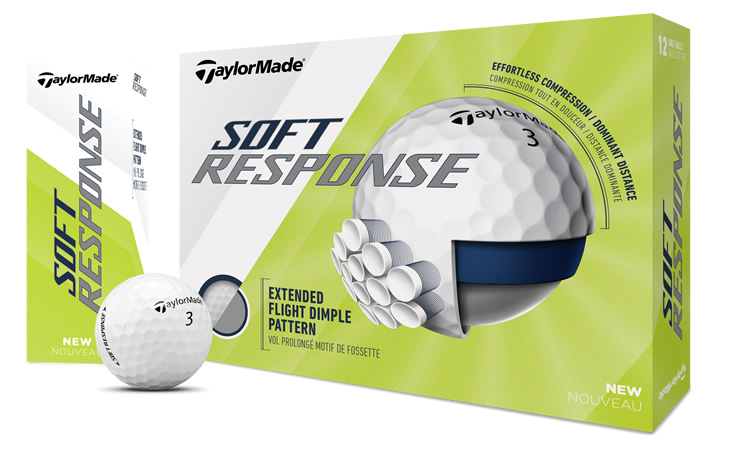 TaylorMade Tour Response and Soft Response Golf Balls