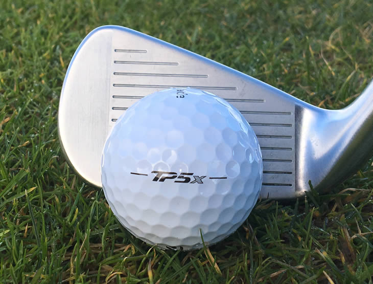 TaylorMade TP5X Ball