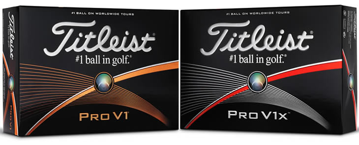 Titleist Pro V1 and ProV1x 2015 Golf Balls