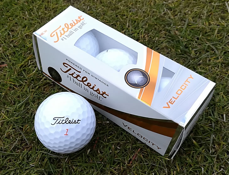 titleist velocity 2018 golf ball review golfalot. Black Bedroom Furniture Sets. Home Design Ideas