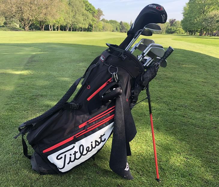 Leist Hybrid 5 Stand Golf Bag Review