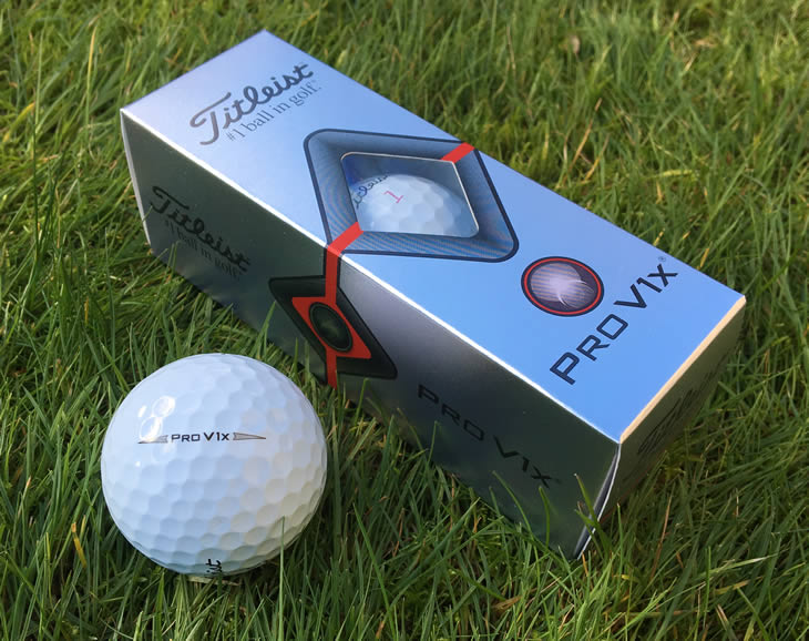 Titleist Pro V1x 2019 Golf Ball