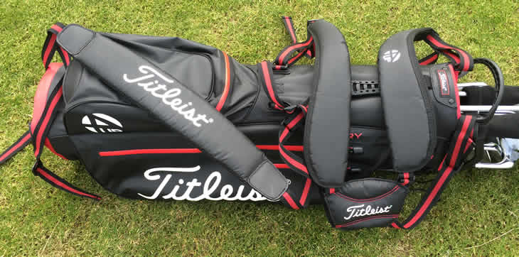 titleist 4up stadry stand golf bag review golfalot