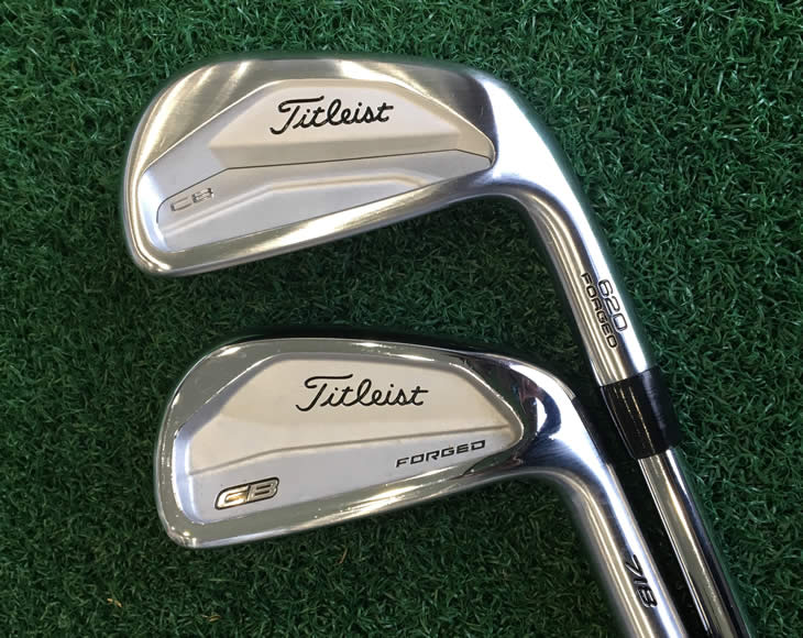 Titleist 620 Forged CB Irons