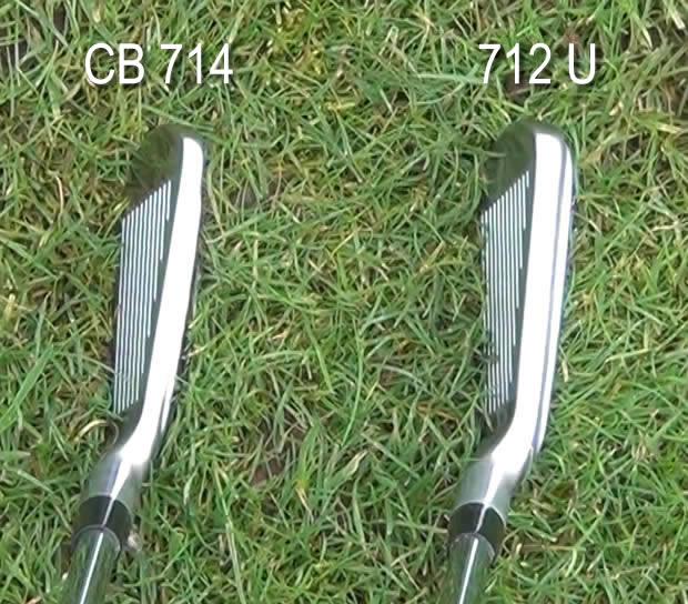 Titleist 712U Iron CB 714 Iron