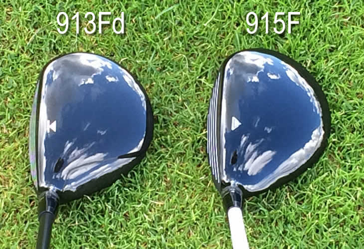 Titleist 915F 913Fd Fairway Address