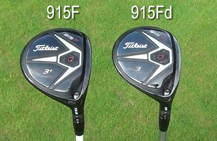 Titleist 915F Fd Fairway Sole Comparison