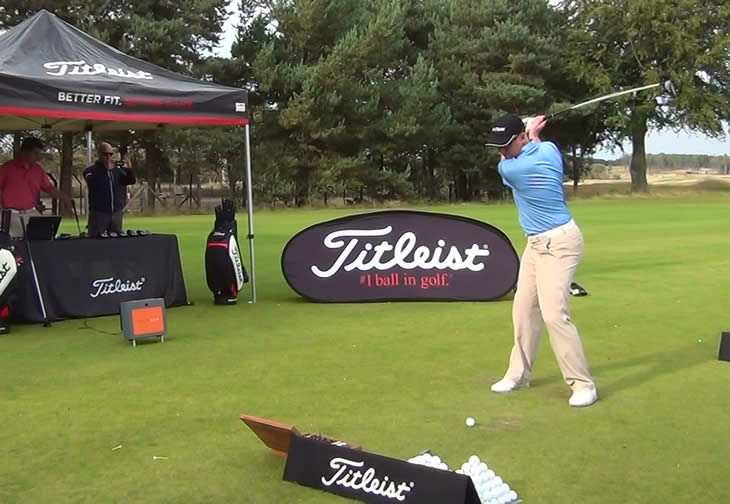 Titleist 915F Fairway Fitting