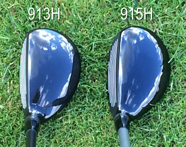 Titleist 915H 913H Hybrid Address