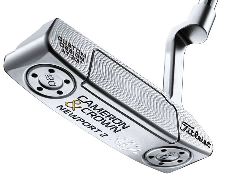 Titleist Cameron & Crown By Scotty Cameron Putters