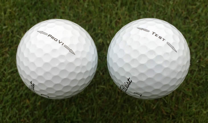 Titleist Pro V1 Test Ball 2014