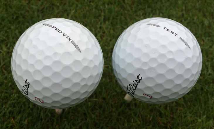 Titleist Pro V1x Test Ball 2014
