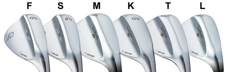 Titleist SM5 Wedge Grinds