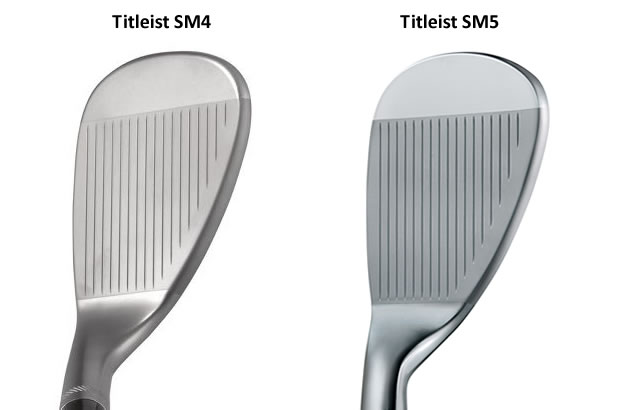 Titleist SM4 vs SM5