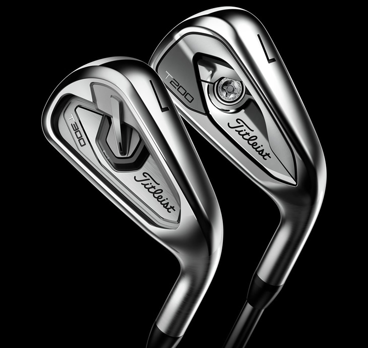 Titleist T200 and T300 Irons