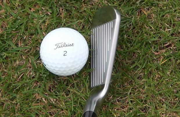 Titleist 714 MB Irons At Address