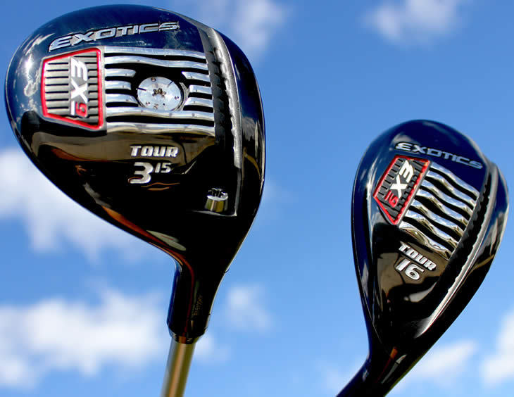 Tour Edge Exotics EX9 Tour Fairway & Hybrid