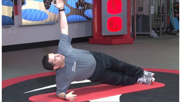 TPI Side Plank Exercise