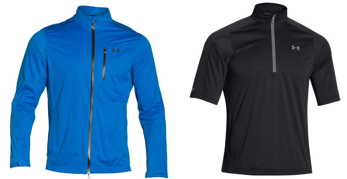 Under Armour Gear Comes With Storm Warning - Golfalot 75c19d575b3c