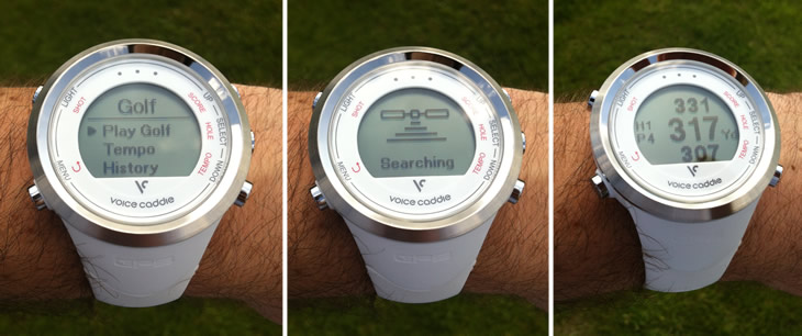 Voice Caddie T1 Watch Golf GPS Rangefinder Review - Golfalot