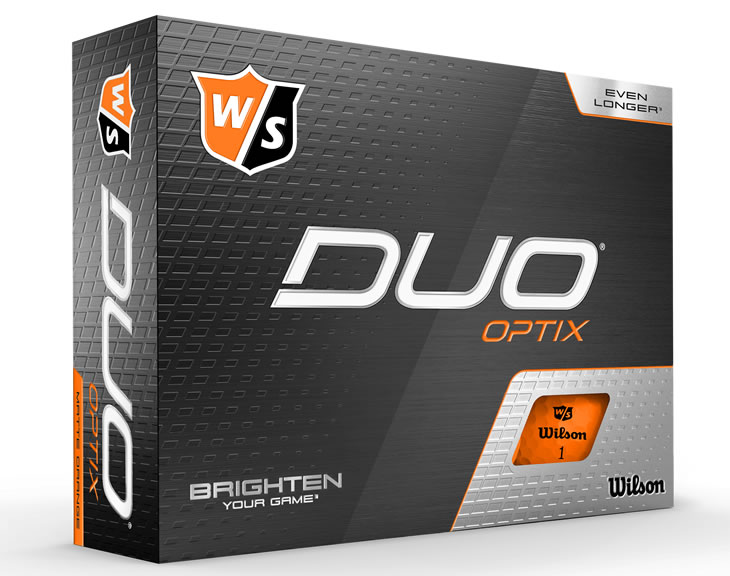 Wilson DUO Optix Golf Ball