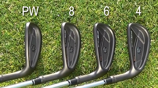 Wilson Staff FG Tour M3 Irons Cavity