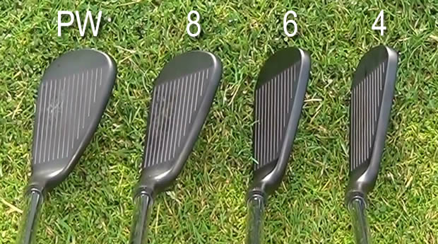 Wilson Staff FG Tour M3 Irons Offset